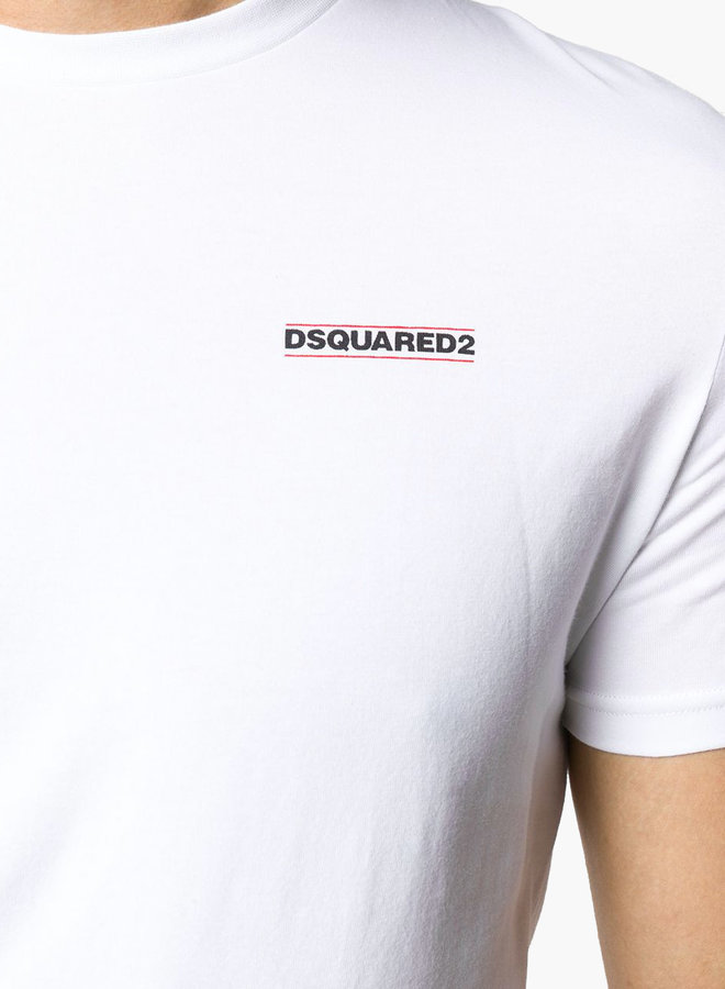 Dsquared2 Black Chest Logo T-shirt