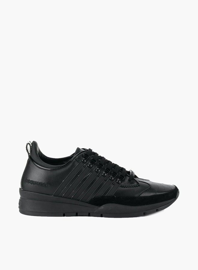 Dsquared2 Black Stripe Sneaker