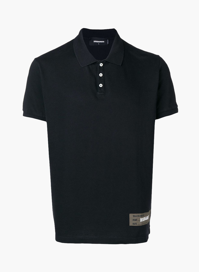 Dsquared2 Green Patch Polo