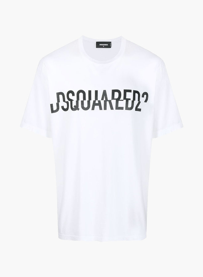 Dsquared2 Double Cut Logo T-Shirt