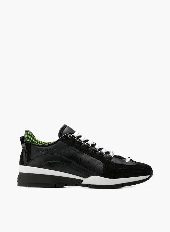Dsquared2 Green Heel Wave Sneaker