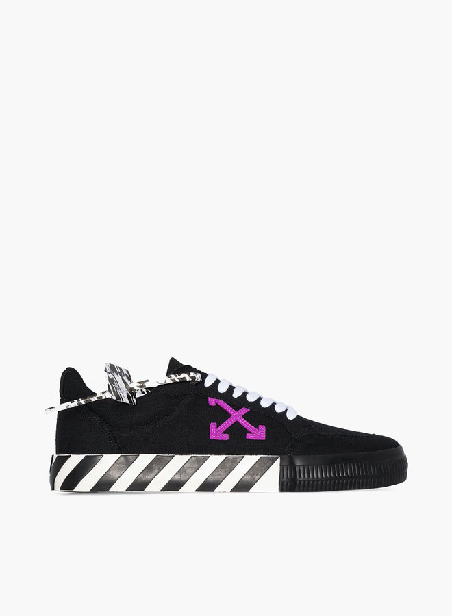 Off-White Vulcanized Purple Arrow Sneakers