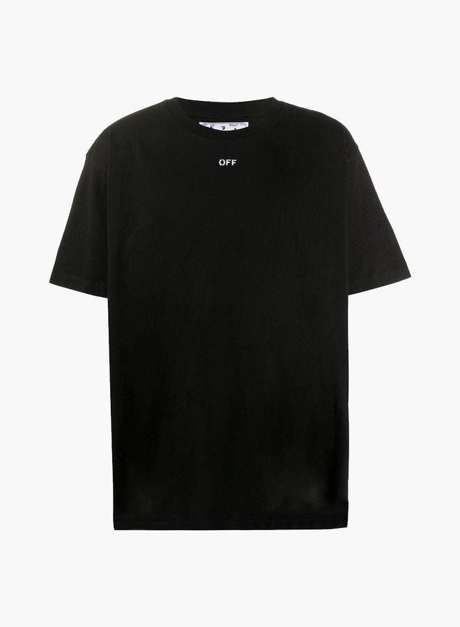 Off-White Stencil Arrow Back Print Oversized T-Shirt
