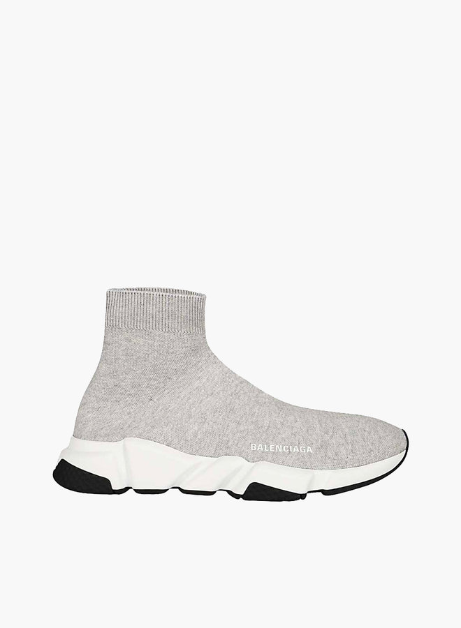 Balenciaga Black Heel Speed Runner Sneaker