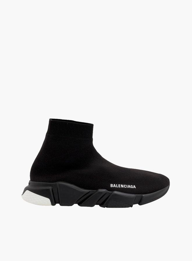 Balenciaga White Heel Speed Runner Sneaker
