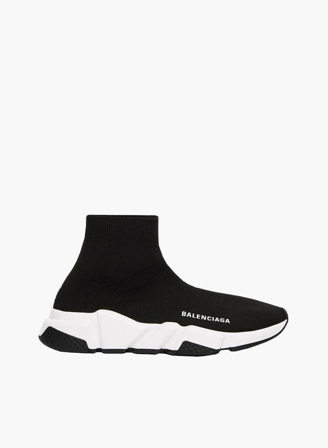 Balenciaga Black Heel Speed Runner Sneaker