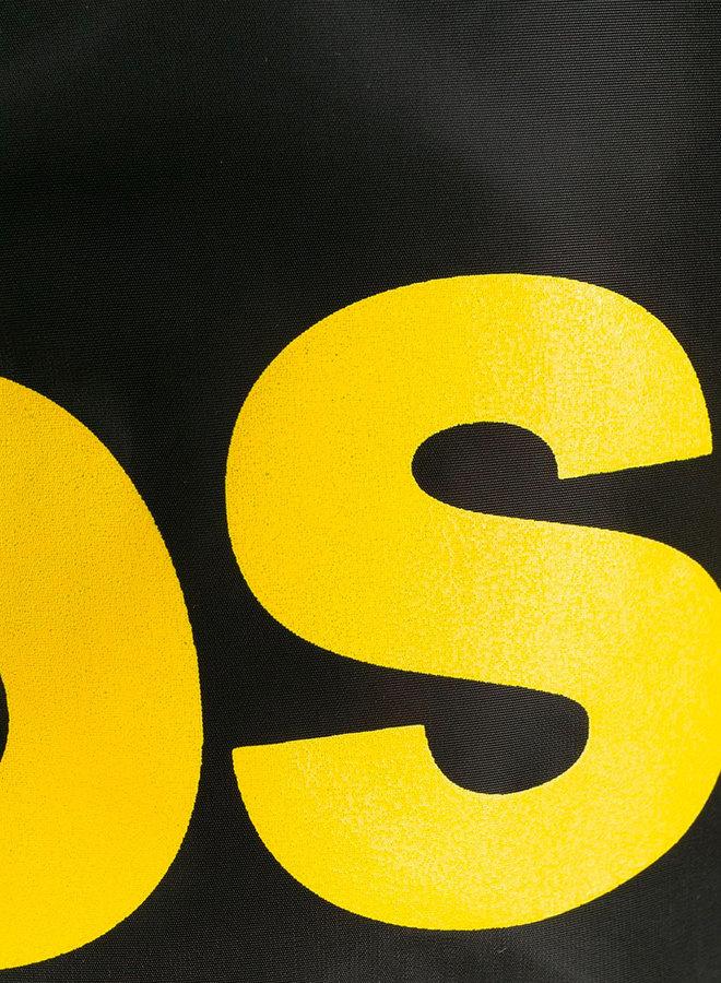 Dsquared2 Full Yellow Logo Short Swimwear