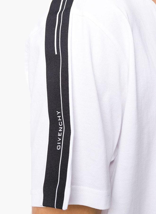 Givenchy Small Logo Side Band T-Shirt