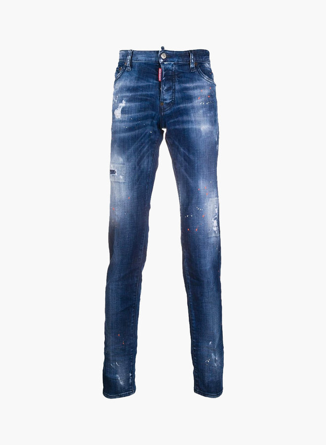 Dsquared2 Orange Spots Skater Jeans