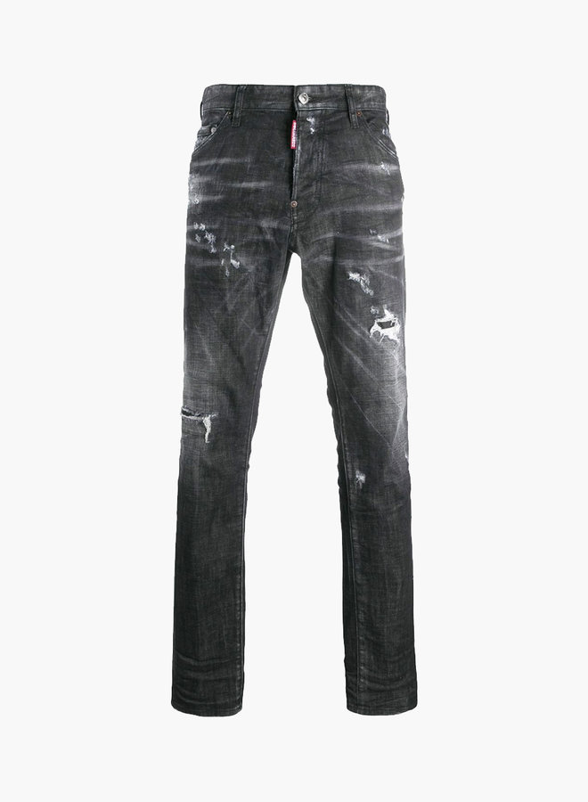 Dsquared2 1964 Black Patch Cool Guy Jeans