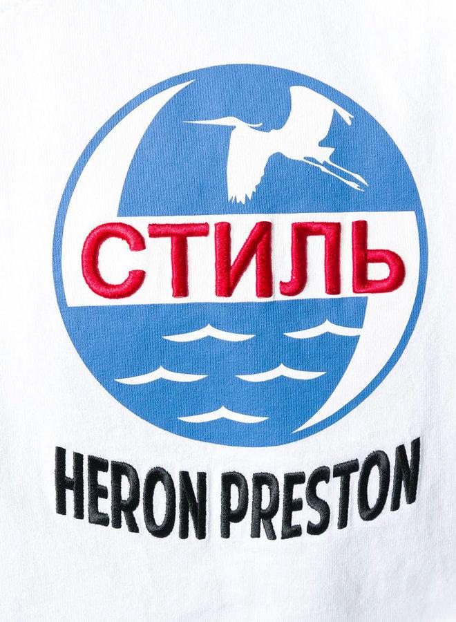 Heron Preston Sea Birds Circle T-Shirt