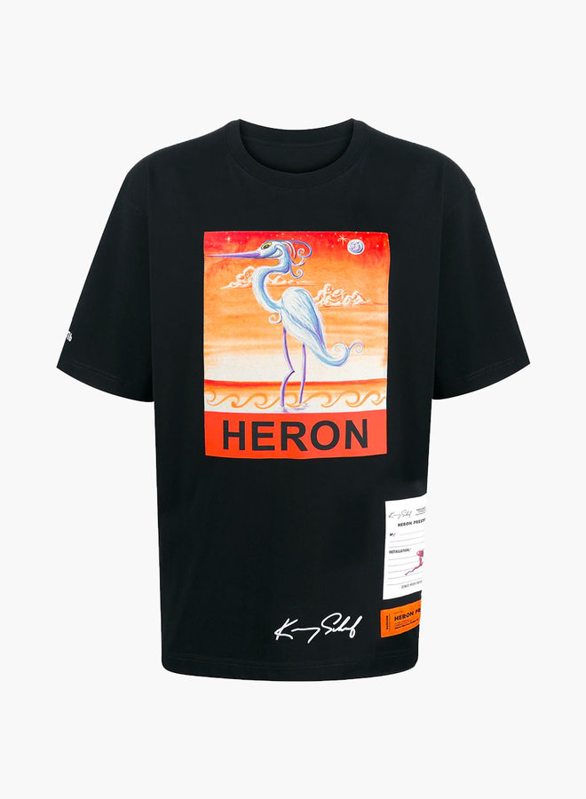 Heron Preston Sky Moon Print T-Shirt