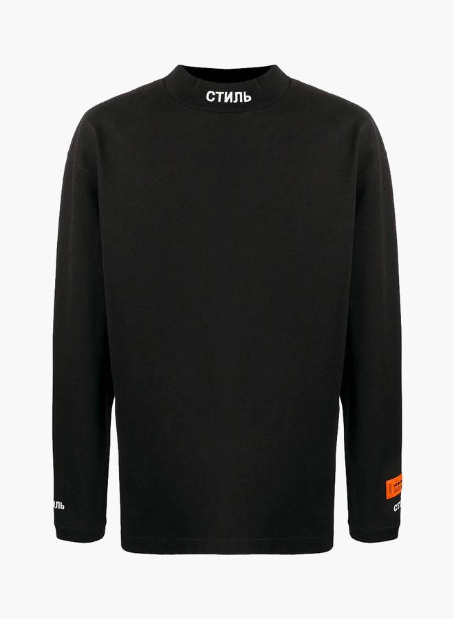 Heron Preston Collar Logo LS T-Shirt
