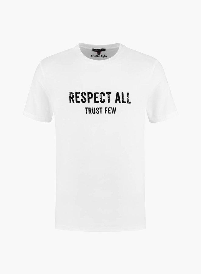 Gigi Vitale Respect All Trust Few T-shirt