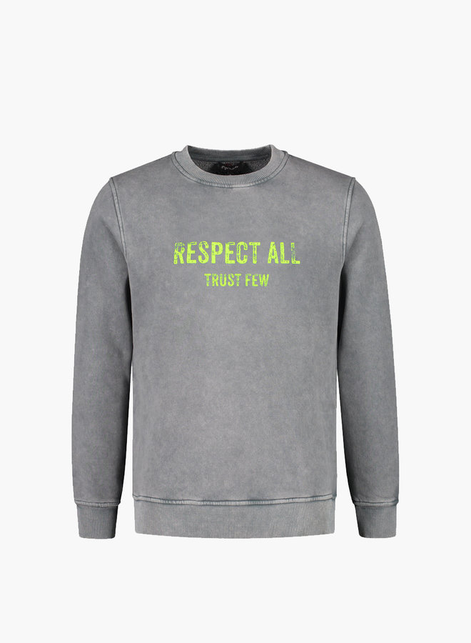 Gigi Vitale Respect All Trust Few Vintage Sweatshirt