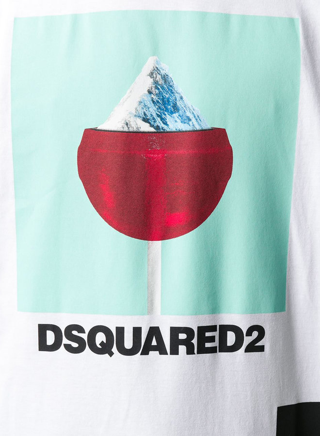 Dsquared2 Lollipop Mountain T-Shirt