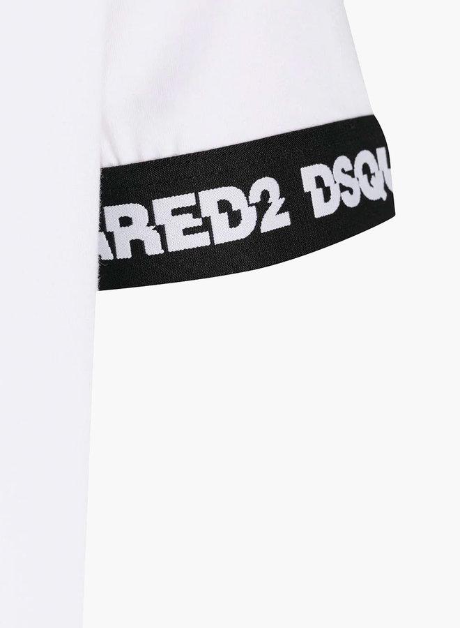 Dsquared2 Split Logo Black Armband T-Shirt