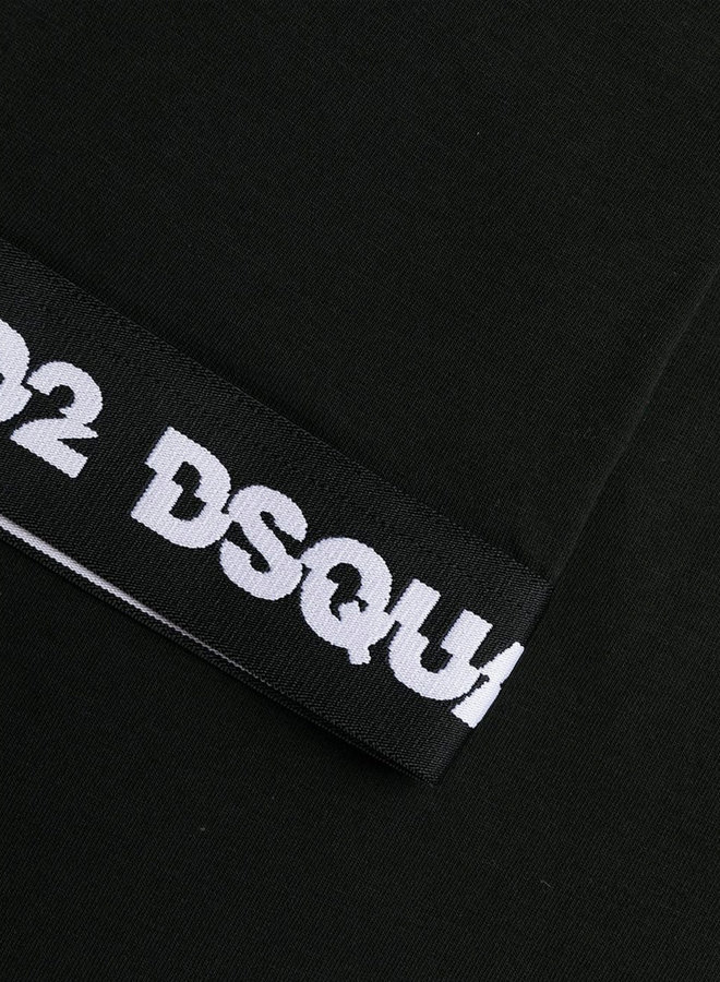 Dsquared2 Split Logo Black Armband T-Shirt