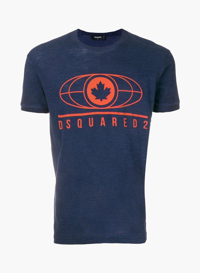 Dsquared2 Line Globe T-Shirt