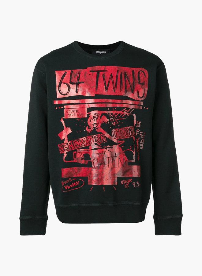 Dsquared2 64 Twins Sweatshirt