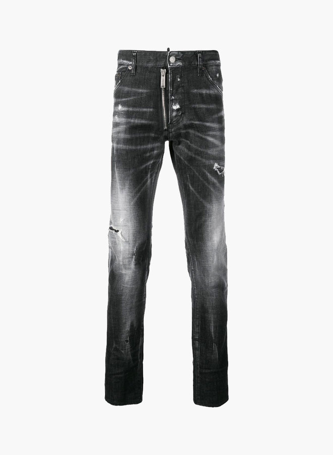 Dsquared2 Front Zipper Cool Guy Jeans