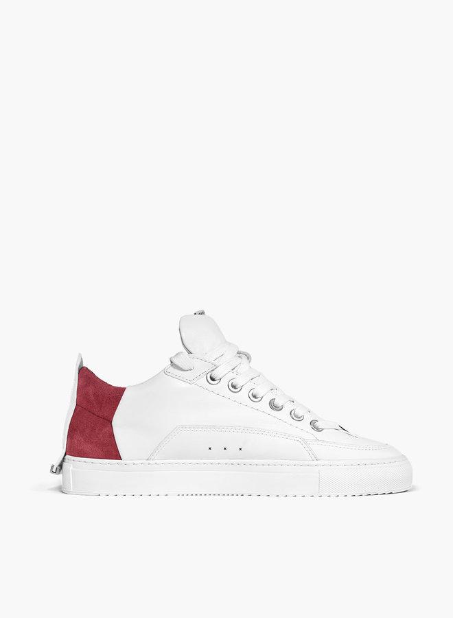 ALLEEN BESCHIKBAAR IN-STORE Bellamad Equator Suede Red Heel Sneaker