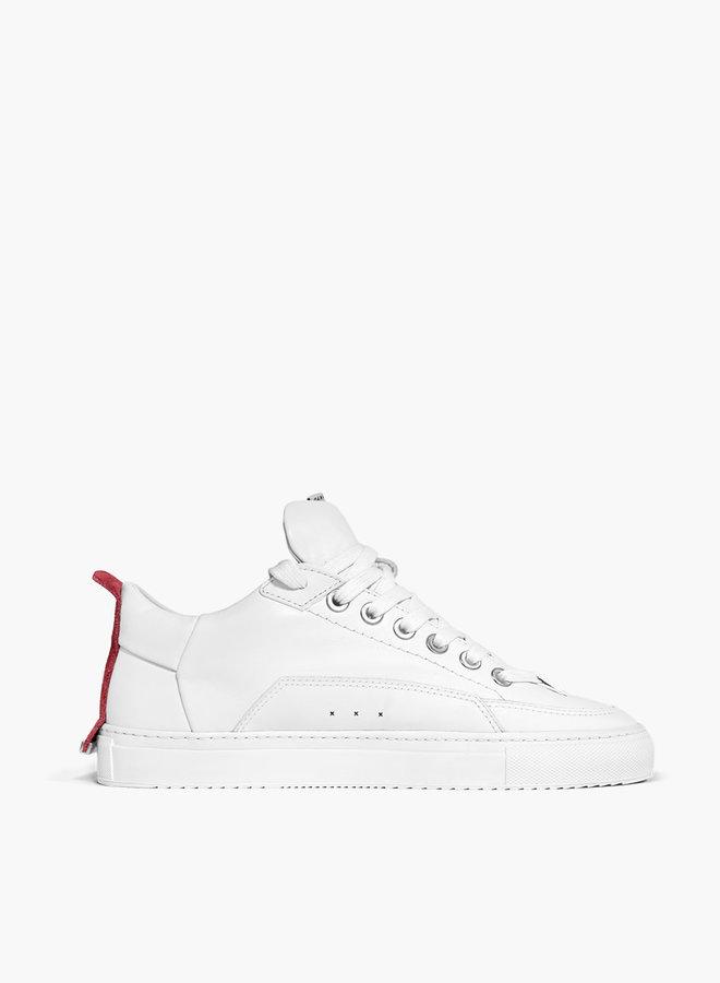 ALLEEN BESCHIKBAAR IN-STORE Bellamad Equator Red Suede Patch Sneaker