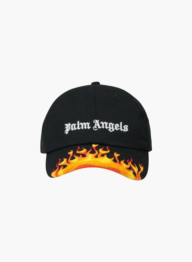 Palm Angels Burning Logo Cap