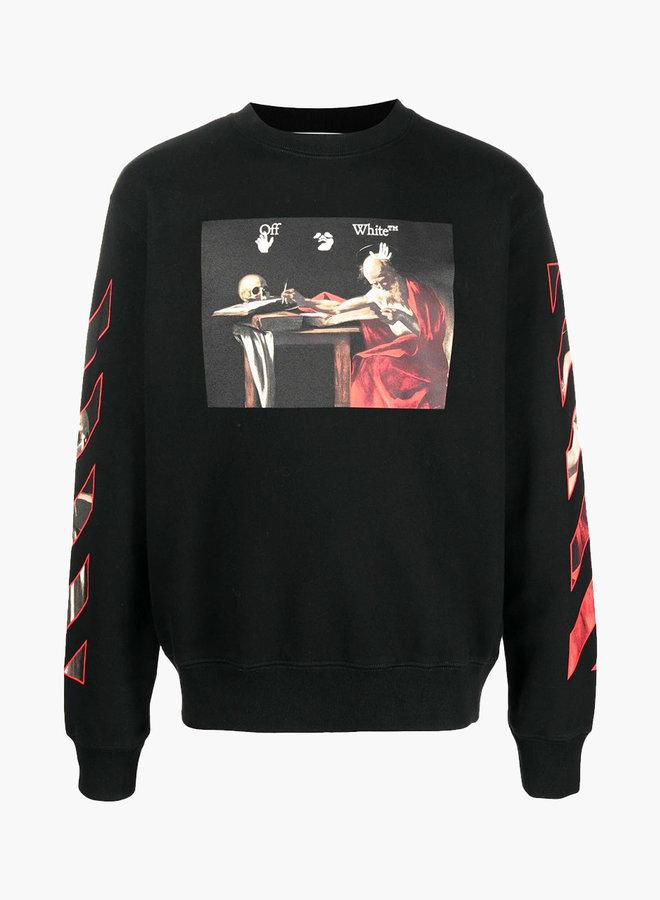 Off-White Caravaggio Red Arrow Sweatshirt