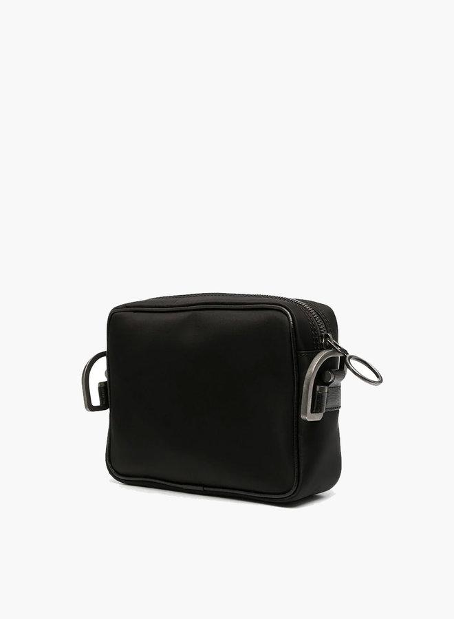 Off-White Nylon Hands Logo Cross-Body Bag