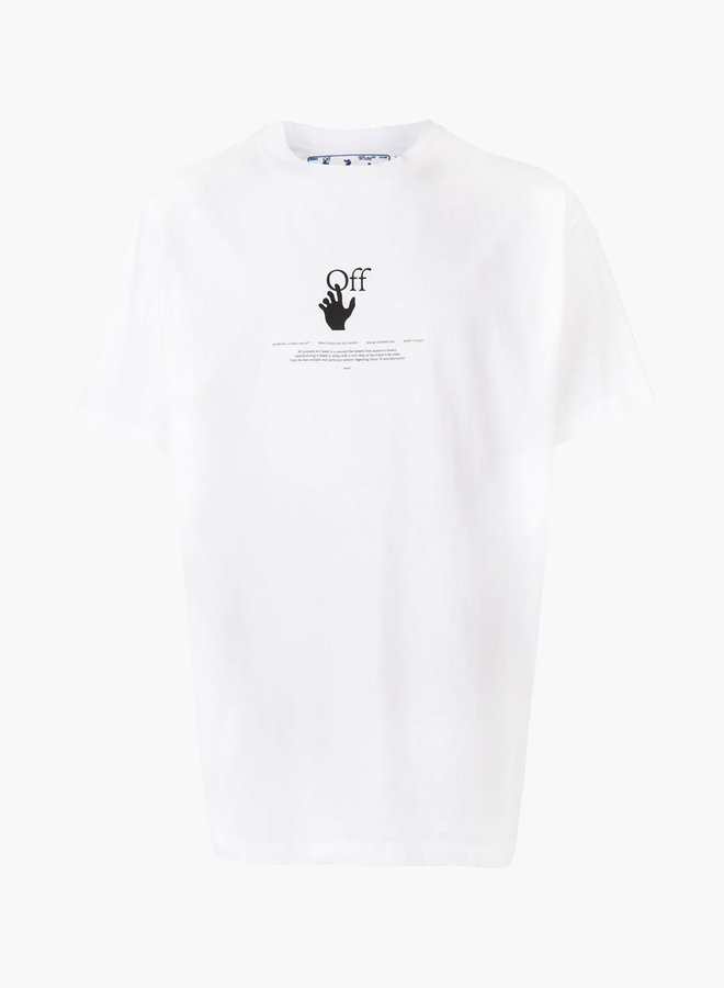 Off-White S/S Oversized Fit Graffiti T-Shirt