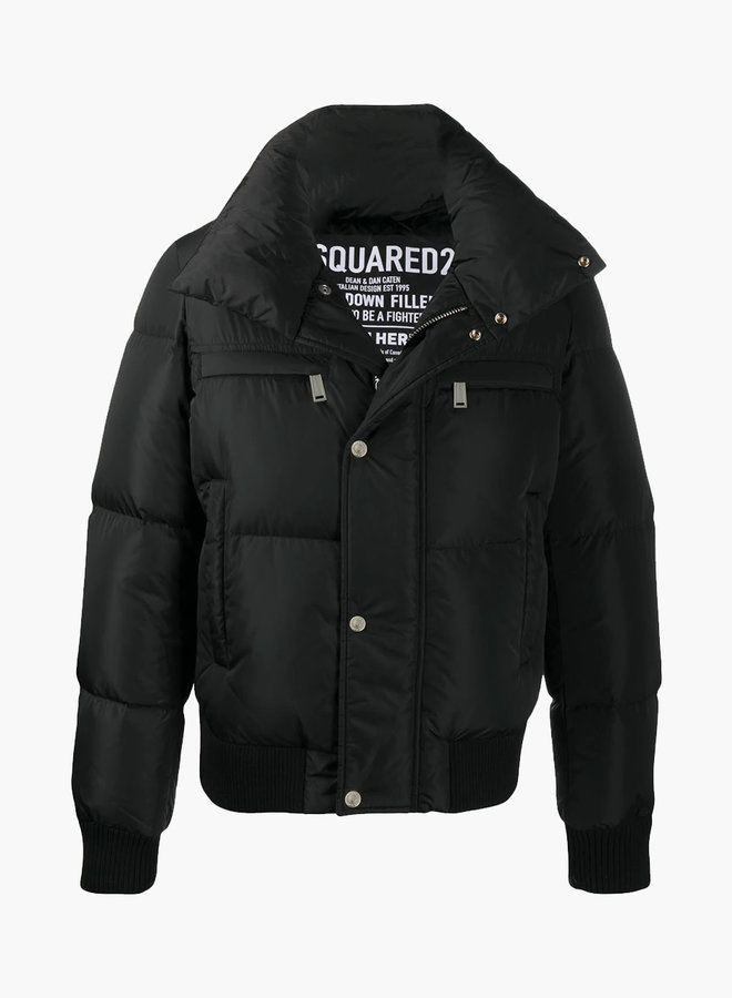 Dsquared2 Back Logo Nylon Down Jacket