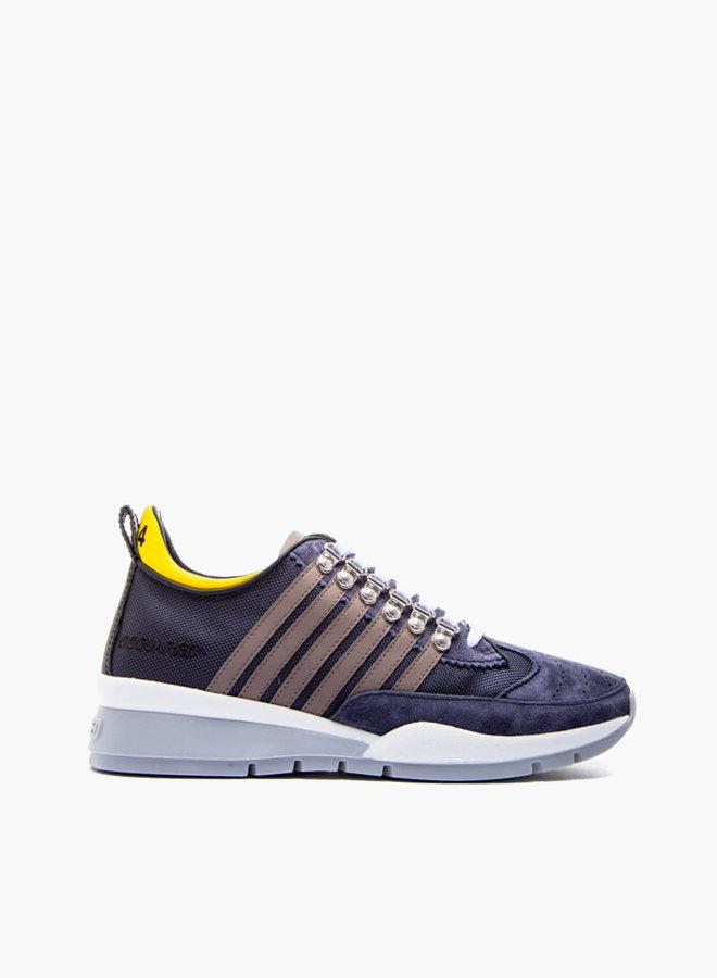 Dsquared2 Grey Stripe Sneaker