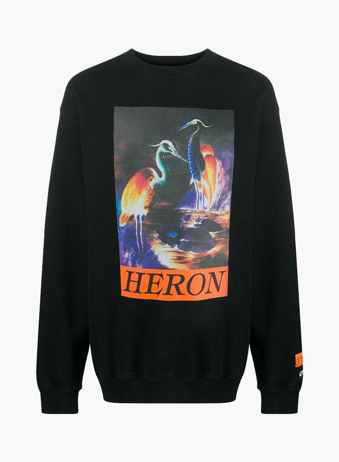 Heron Preston Night Colours Print Sweatshirt