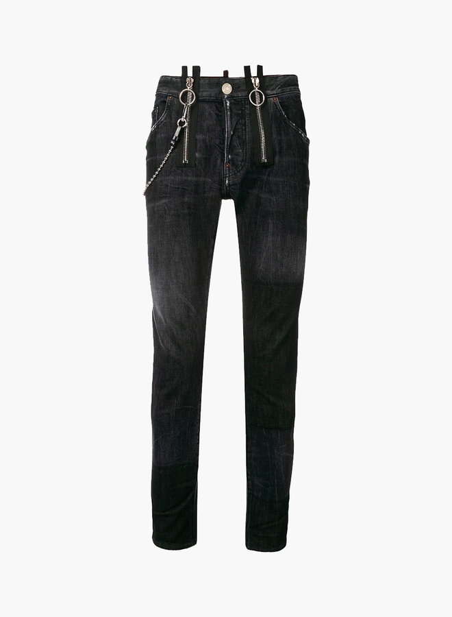 Dsquared2 Double Zipper Chain Cool Guy Jeans