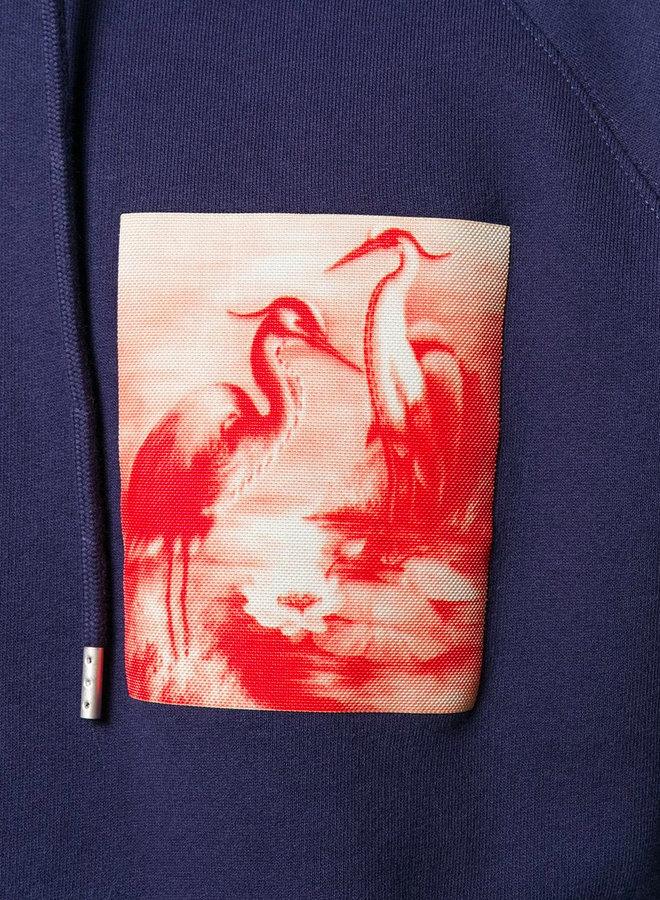 Heron Preston Small Square Birds Sweatshirt