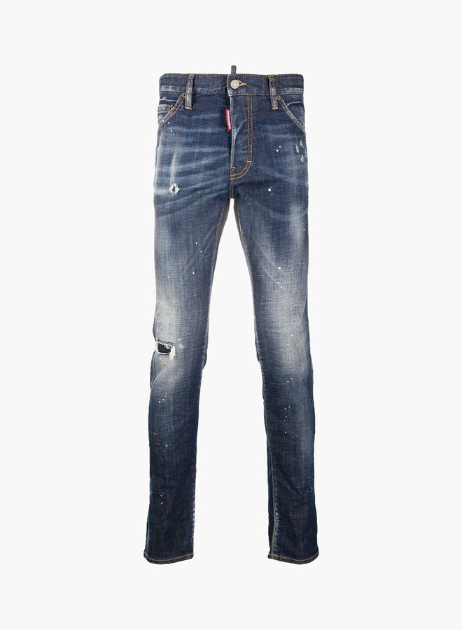 Dsquared2 Red Spots Maple Patch Cool Guy Jeans