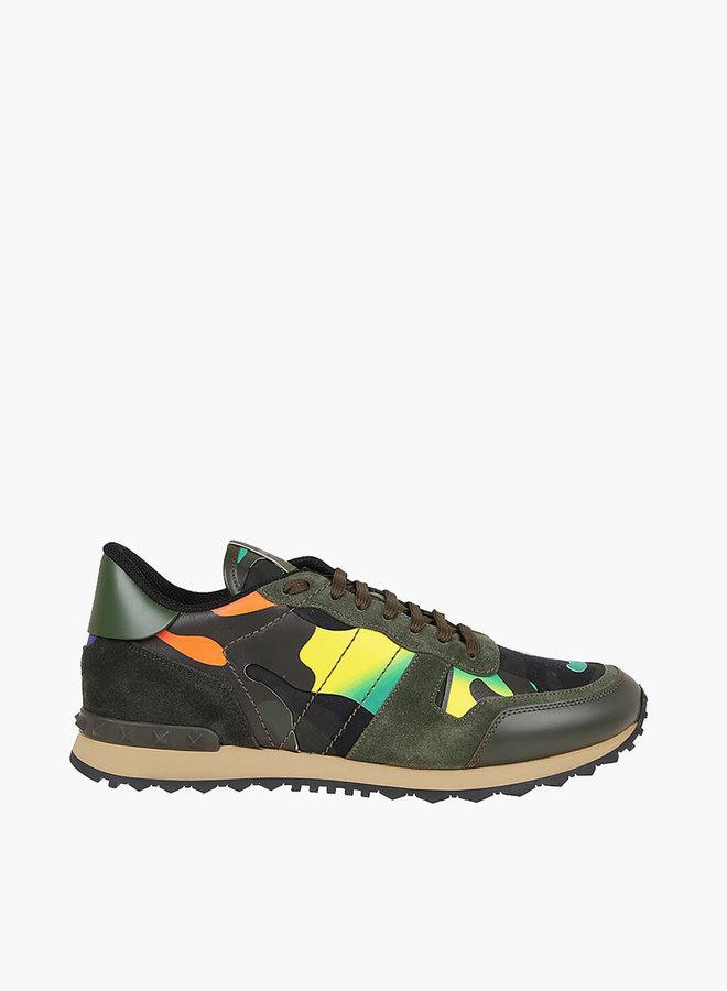 Valentino Gradient Camouflage Rockrunner Sneaker