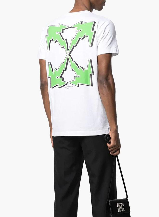 Off-White Electric Graffiti Arrows T-Shirt