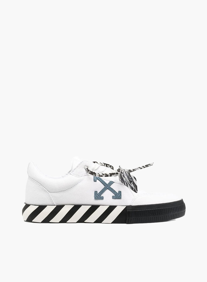 Off-White Vulcanized Blue Arrow Sneakers