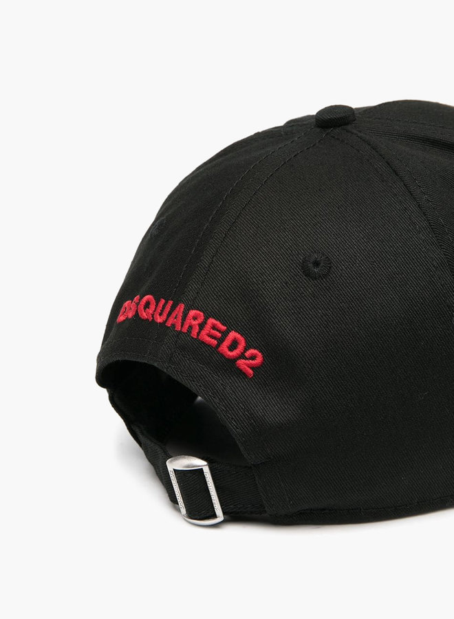 Dsquared2 Small Red Maple Leaf Cap