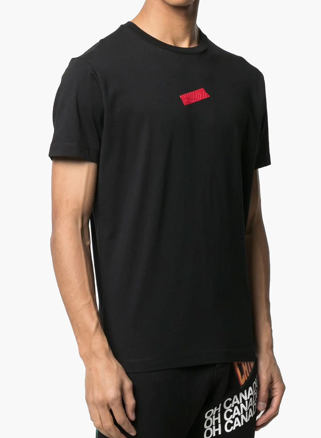 Dsquared2 Red Redacted Logo T-Shirt