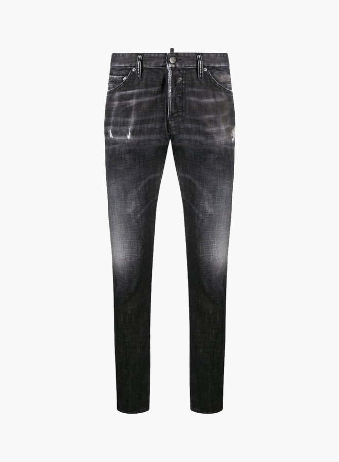 Dsquared2 Vertical Logo Cool Guy Jeans