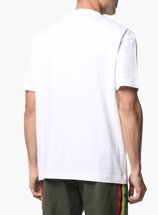 Palm Angels Black Spray Paris T-Shirt