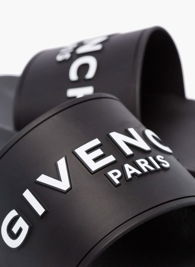 Givenchy Embossed Logo Slide