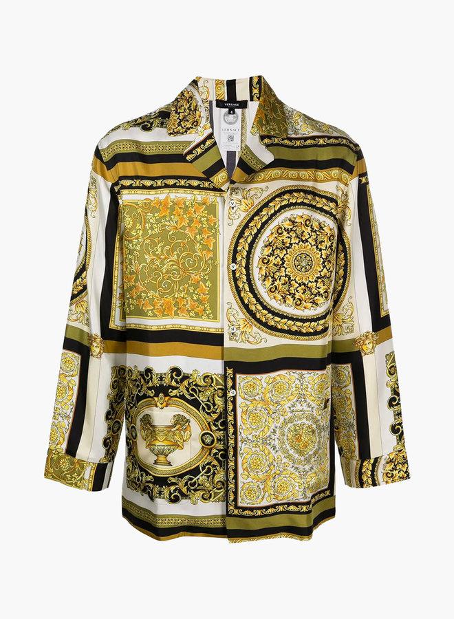 Versace Classic Baroque Pyjama Shirt