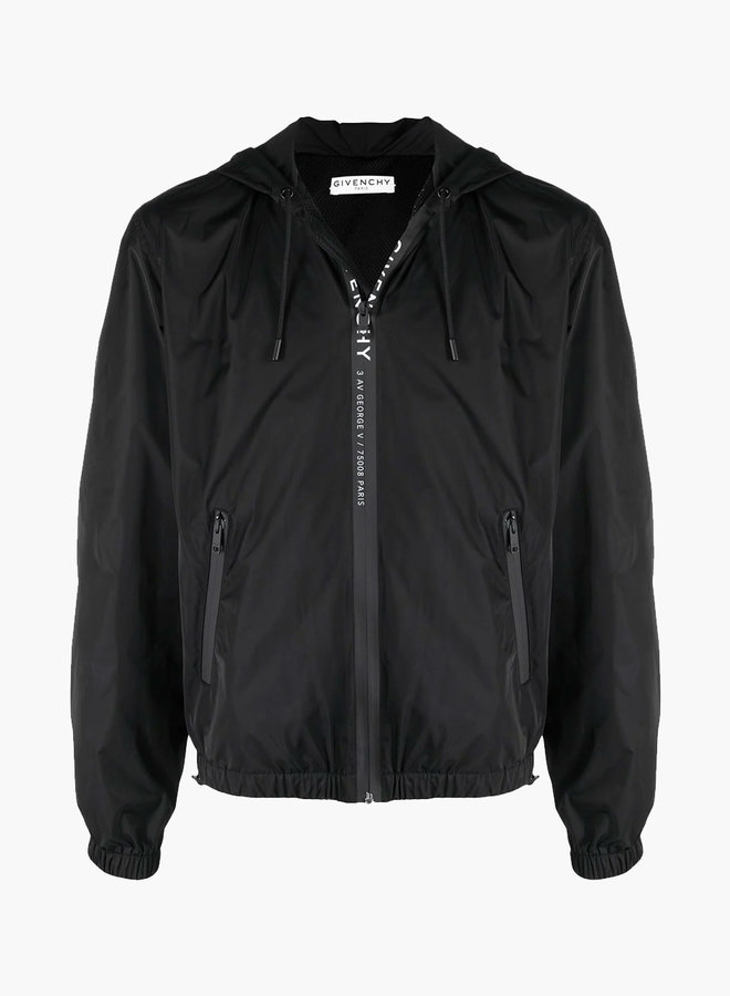 Givenchy Zipper Logo Windbreaker