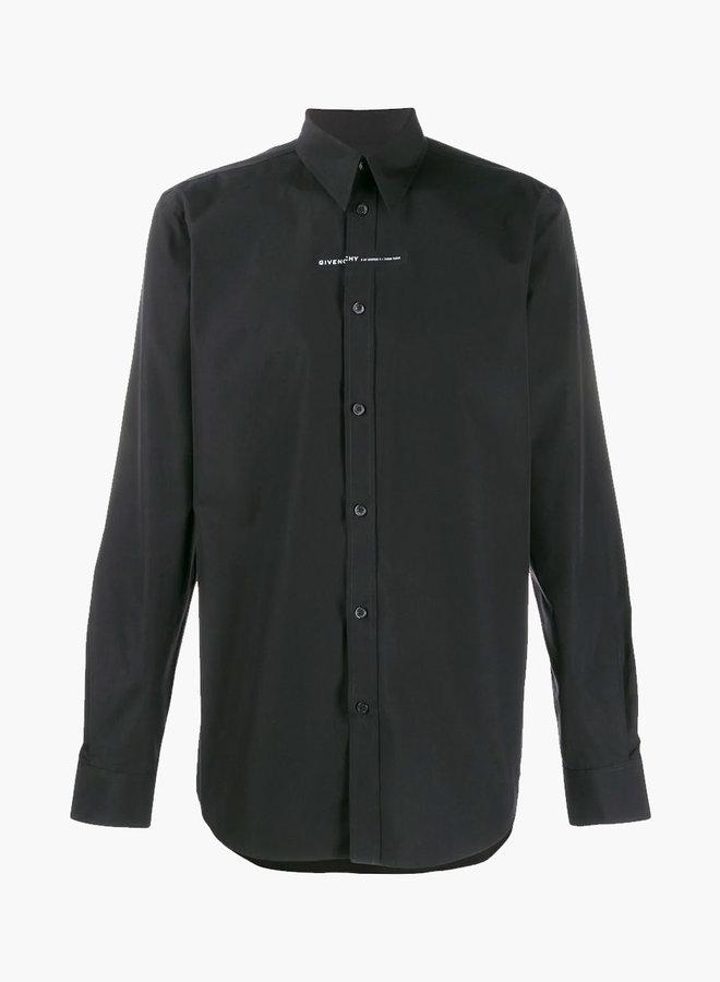 Givenchy Seam Logo Shirt