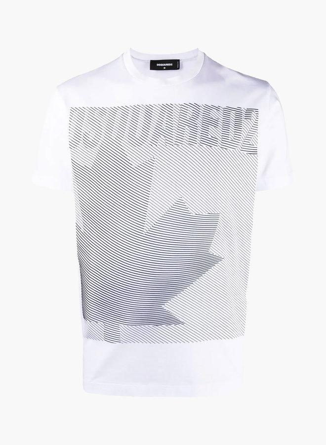 Dsquared2 Big Maple Graphic Print T-Shirt