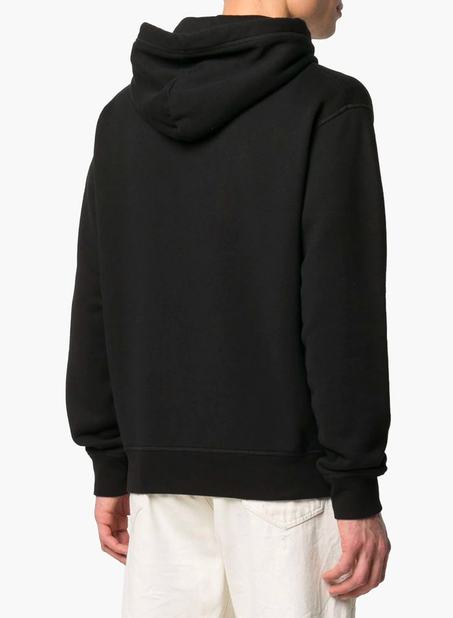 Dsquared2 Red Maple Logo Hoodie